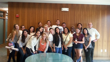 Hollywood Woodwork Hosts FIU Interior Architecture Class