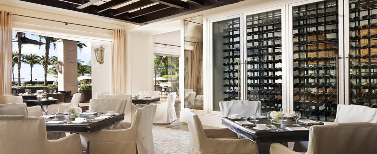 Ritz Carlton Grand Cayman Seven Rest Private Dining 1300 X 532 Restaurant