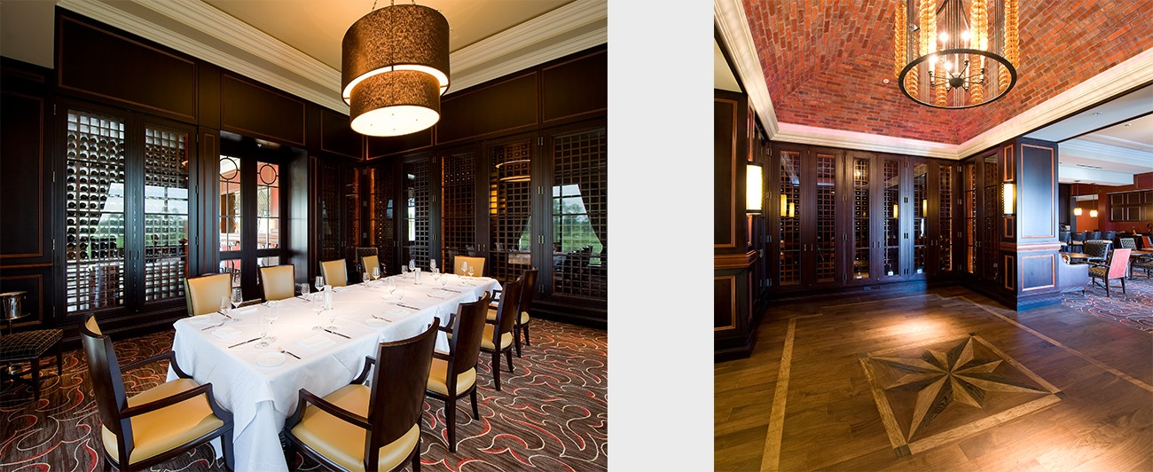 private dining and entry to dining